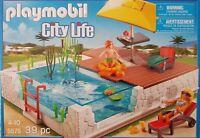 Playmobil 5575 Einbau-Swimmingpool 39teilig Neu/Ovp geeignet für Luxusvilla 5574