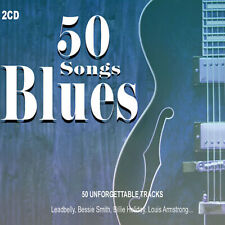2CD 50 Songs Blues Louis Armstrong Billie Holiday Fast Waller Soul Music