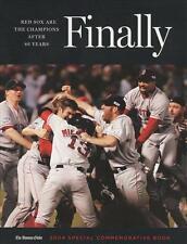 Boston Red Sox 2004 MLB Baseball World Series Champions FINALLY book