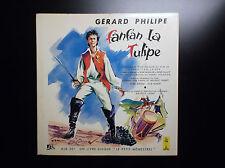 Livre disque Gérard Philipe Fanfan La Tulipe Le petit Menestrel