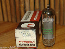 Vintage Motorola EL84 6BQ5 Stereo Tube 1960 Results = 77   #1883