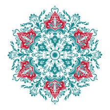 Arabic Blue Mandala Design Sticker Decor Car,Van, Fridge, Laptop, Wall Art Decal