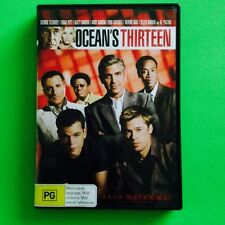 OCEAN'S THIRTEEN LIKE NEW DVD AUSSIE SELLER FREE POSTAGE