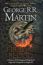 Fire and Blood by George RR Martin BOOK HC Fantasy Game of Thrones
