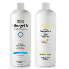 Ultragel FX 1000ml Advanced Gel Brazilian Keratin Hair Treatment & Pre-Treatment