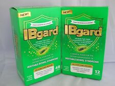 IBGARD IRRITABLE BOWEL SYNDROME DIETARY SUPPLEMENT (2PK BUNDLE 48&12 CAPS )