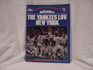 SWEET New York Yankees 1979 Revised Edition Yearbook, '78 World Series Champs!!