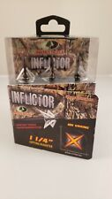 "*New* Mossy Oak Inflictor 1 1/4"" 100 Grains Broadheads Free Shipping!"