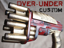 Over-Under Prop Gun, New - Custom Painted for Steampunk LARP or Cosplay