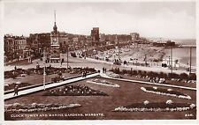 Clock Tower & Marine Gardens, MARGATE, Kent RP