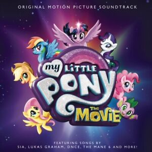 My Little Pony The Movie O.S.T CD NEW & SEALED