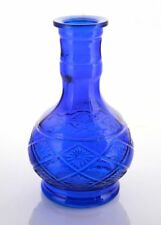 NEW SALE LARGE BLUE DIAMOND VASE Hookah Shisha Narguile for Water Smoking Pipe