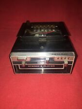 Realistic Car 8 Track Player Worked When Removed Untested May Work May Not Clean