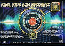 KOOL FM Rave Flyer Flyers 6/12/97 A5 Stratford Rex London E15