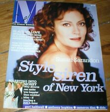 SUSAN SARANDON Bryan Ferry Anthony Hopkins John Corbett Rod Stewart magazine '02