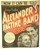 Vintage Piano Sheet Music Alexander's Ragtime Band Now it can be told 20th C Fox
