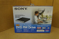 Sony DRX-S70U Black External Rewriteable DVD/CD Drive