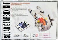 NEW Solar Powered Gearbox Kit w/ Solar Panel, Manual