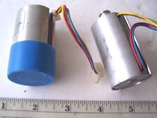 Small Printer Motors DC Voltage Lot of 2 for Robotics and Radio Control Vehicles