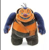 """Disney Store Jumba Plush Lilo & Stitch Medium 13"""" Evil Genius Alien Doctor RARE"""