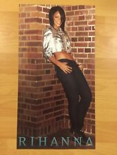"Rare RIHANNA good girl gone bad Promo 2-sided 9"" x 17"" Poster R&B POP Sexy JAY-Z"