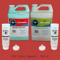 JFJ Advanced Polish Compound #1 Blue and #2 White - Original Gallons 1&2