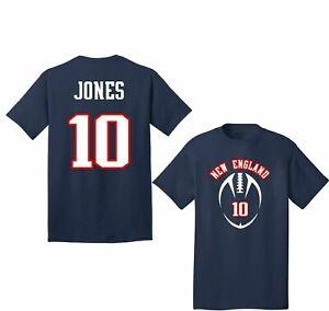 MAC JONES #10 Patriots New England Patriots NFL Football T shirt Hot Vintage