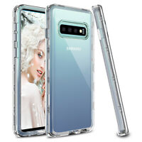 For Samsung Galaxy S10 Plus/S10/S10e Case Shockproof Clear TPU Case Cover