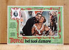 TRIPOLI BEL SUOL D'AMORE fotobusta poster Fulvia Franco Lyla Rocco Ellis C62