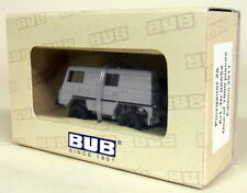 BUB 1/87 Scale - 05552 Pinzgauer 2a Closed Truck Grey - Diecast Model car