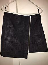 Stylestalker Cute Indie Festival Black Mini Skirt XS