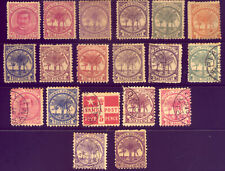 SAMOA:  A NICE  COLLECTION of OLD STAMPS - SOME MINT 1800s   NO  RESERVE !!!!
