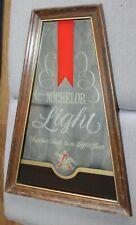 1980'S Michelob Light Mirror Sign Man Cave Decor!