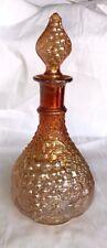 FENTON CARNIVAL GLASS DECANTER  W/ STOPPER