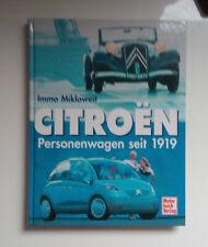 Citroen Automobile seit 1919 von Mikloweit