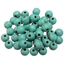 20 Perle Naturel Pierre Turquoise 6mm