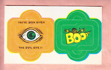1969 Topps Pak 'O' Fun Test Issue #3 Evil Eye Nm/Mt-Mint