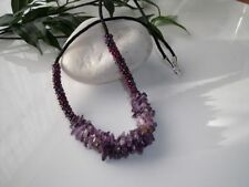 Handmade Amethyst Cluster Costume Necklaces & Pendants