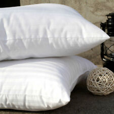 Pack of 2 Pillows, Luxury Bounce Back Hollow Fibre Filling Pillow Pair