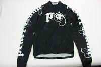 Pearl iZUMi Men's Elite Thermal LTD Jersey, Metal Black, Medium
