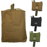 Foldable Camping Molle Magazine Dump Drop Pouch Military Recovery Folding Bag