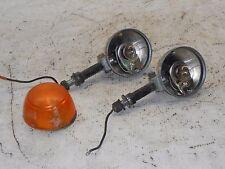 72 HONDA CB350F CB 350 F FOUR PAIR REAR TURN SIGNALS INDICATORS BLINKERS