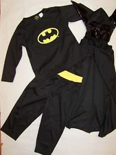 COSPLAY Batman (BLACK) Costumes Sizes 2-10 BRAND NEW for Dressup Parties etc