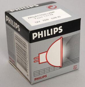 PHILIPS TYPE 13139 PROJECTION BULB FOR LEITZ FOCOMAT ENLARGER 12V 75W GZ6.35