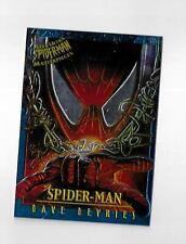 Spider-Man Ultra 1995 Masterpieces Chromium Card 4 Spider-Man - Dave DeVries