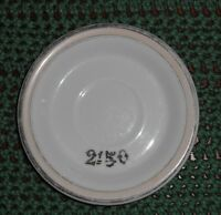 W Guerin Co Paris & Limoges W G & Co Limoges France Pink, Black, White Plate