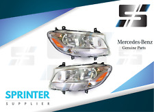 2019 Sprinter Head Light Pair Genuine Mercedes 9109060400 9109060500
