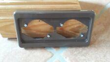 Berker Rahmen M3918272591 Symbol IP44 braun matt