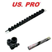 """US PRO 14 Piece 3/8"""" Drive Impact 6 Point Stubby Sockets 6 - 19mm 1435"""