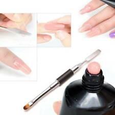 Dual-ended Acrylic Painting Pen Spatula Drawing UV Gel Brush DIY Nail Art Tool